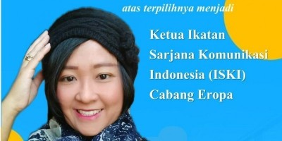 Ketua Ikatan Sarjana Komunikasi Indonesia (ISKI) Cabang Eropa