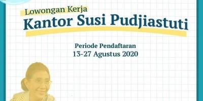 Lowongan Kerja di Kantor Susi Pudjiastuti 2020