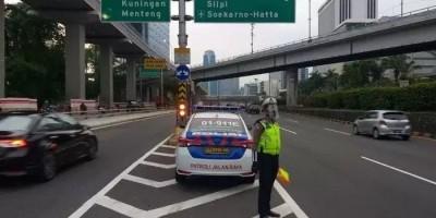 Soal Aksi Unjuk Rasa BEM SI Siang Ini, TMC Polda Metro Jaya Siapkan Pengalihan Arus Lalu Lintas