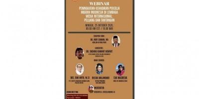Webinar Peningkatan Kehadiran Pekerja Migran Indonesia di Lembaga Media Internasional
