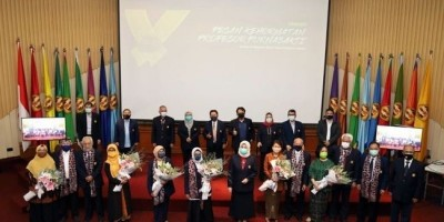 7 Guru Besar Unpad Sampaikan Pesan Kehormatan Usai Masuki Masa Purnabakti